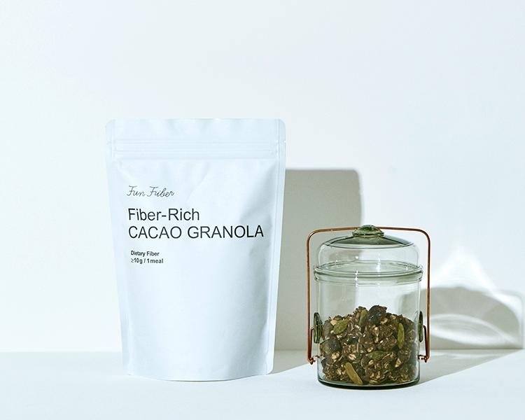 Fiber-Rich CACAO GRANOLA(カカオグラノーラ)